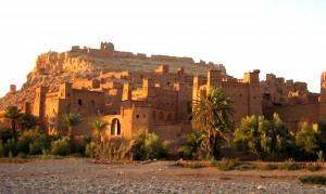 the UNESCO world heritage site Aït Benhaddou